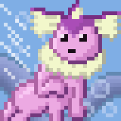ShinyVappy Pixel Art|by rainChu
