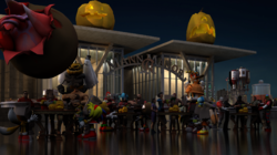 Sonic Team Fortress 2 and Starfox Halloween|by B_CANSIN