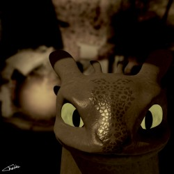 Just Toothless|by Thedahu