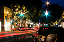 Night in San Lois Obispo|by Cadpigv2