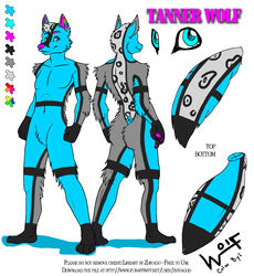 Tanner's Ref Sheet *updates*|by Wolfman5