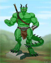 I mean Business!! (Art by Nazuu-monster)|by Varanis Ridari