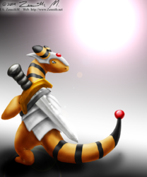 Armoured Ampharos is SERIOUS|by Zennith