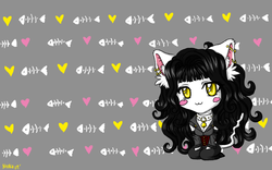 Nyoko chibi wallpaper|by Nyoko