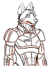Cmd. Jake (Willow) Shepard - WIP|by Lyk