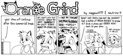ORANGE GRIND Sample Strip 01|by megawolf77