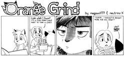 ORANGE GRIND Sample Strip 03|by megawolf77