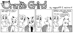 ORANGE GRIND Sample Strip 04|by megawolf77