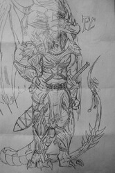 Armor design - Sketch|by Fatchaos