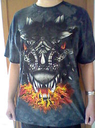 My new shirt.|by Blitzkrieg the Dragon