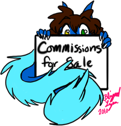 Commissions for Sale|by Blizzardlynn