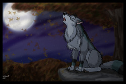 Autumn's Moon|by Lonewolf Artz