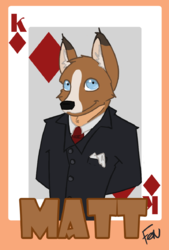 Badge for the mutt!|by matt-the-mutt