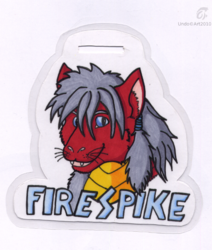 Firespike Badge|by Undonielle