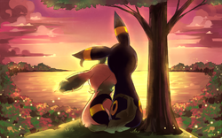 Kyler and Petal|by Kyler The Umbreon