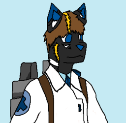 TF2 fursona|by Kumakami
