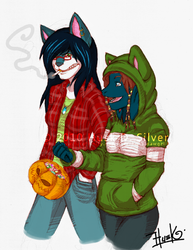 COMM: Cosplay in Halloween|by HUSK_dawgzilla