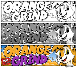 ORANGE GRIND Webcomic Strip Banner