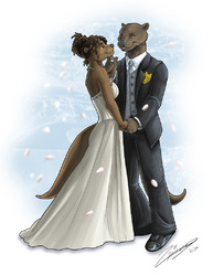 Wedding Otters