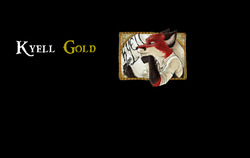 Kyell Gold Banner|by Dancefreak111