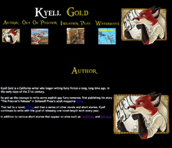 Kyell Gold Web-Page Author|by Dancefreak111