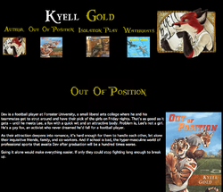 Kyell Gold Web-Page Out of Position|by Dancefreak111