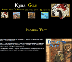 Kyell Gold Web-Page Isolation Play|by Dancefreak111