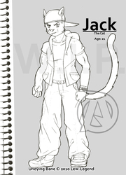 Jack The Cat|by Lew-Legend