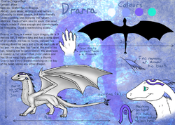 Reference - Drarra - By Ember|by DragonTear