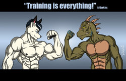 Training is everything|by ReptileCynrik