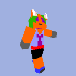 Shizu Minecraft Skin|by ShadowFox47