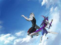 Buff Suzano and Den Dens Sergal wallpaper|by XSuzanoX