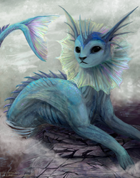 Vaporeon|by Tatchit