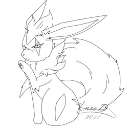 Sophia (Female Flareon)