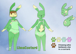 Character Sheet- Lime|by LimeCustard