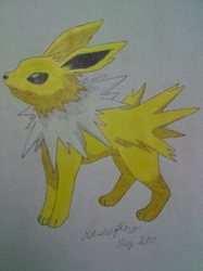 Jolteon|by Joey the Umbreon