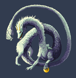 Pixelled Dragon|by RaiKhan