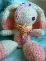 Hailyne! The Amigurumi Bunny!|by Hailyne