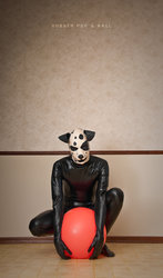 Rubber Pup & Ball