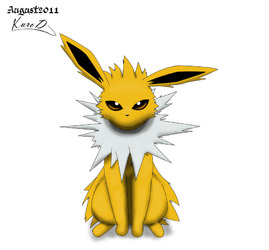Jolteon moves without moving