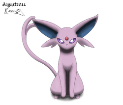 Espeon is gazing into your mind