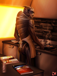 Turian Breakfast|by dream_and_nightmare
