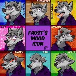 Faust Mood icons