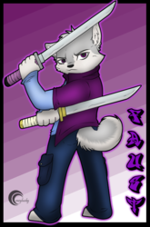 Faust Chibi Fighting badge
