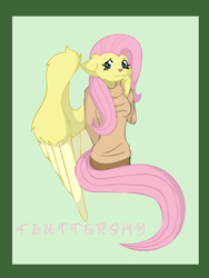 Fluttershy kitty|by punkkitten7x2