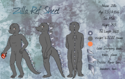 Zilla Ref Sheet|by Chalmrah