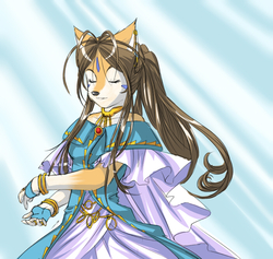 Belldandy Furry|by Mushni