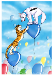 Balloon Chase|by JosePaw