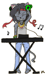DJ Kittypants|by Caryas