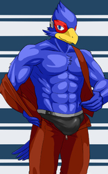 Beefy Falco|by togepi1125